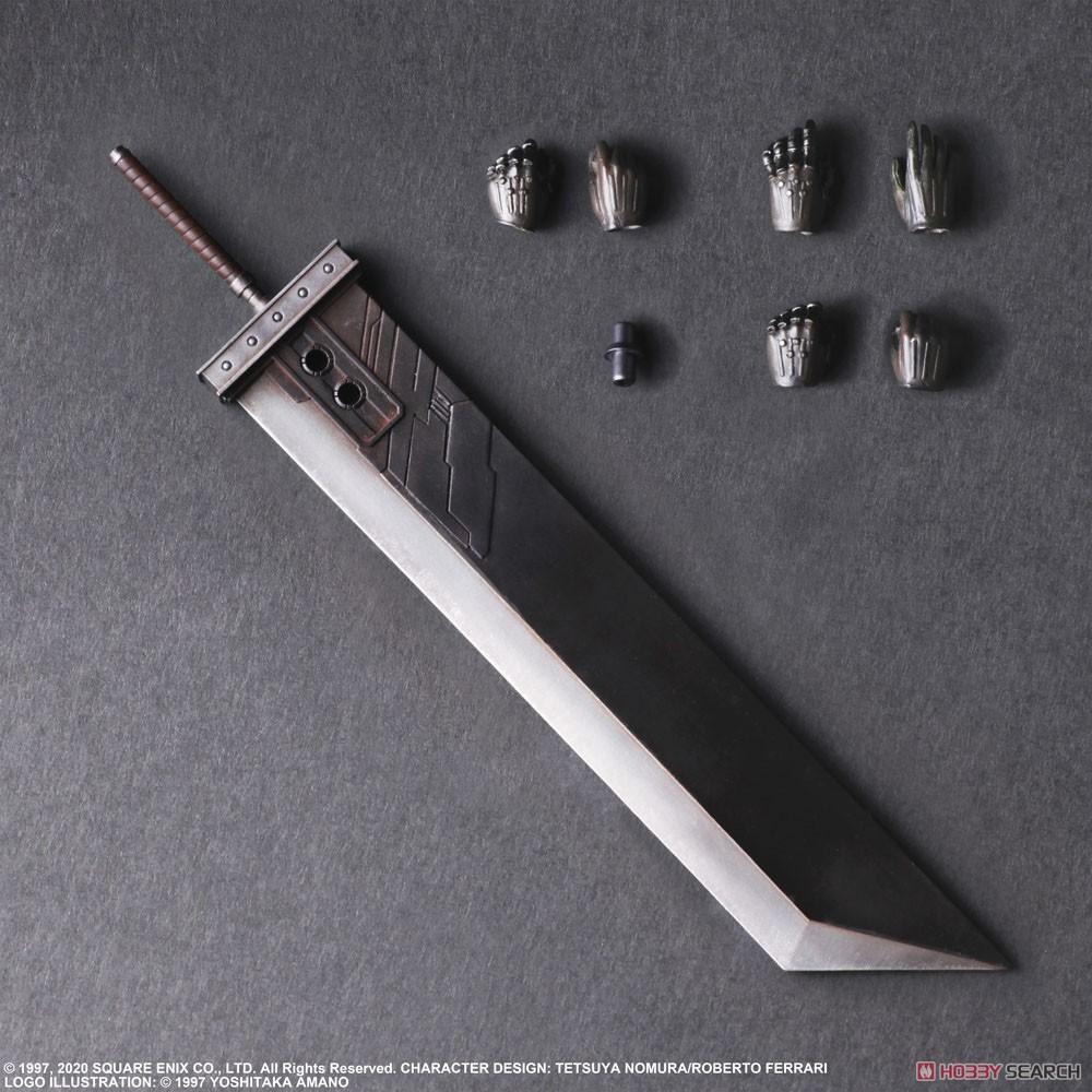 PLAY ARTS改『クラウド・ストライフ Version 2』ファイナルファンタジーVII リメイク 可動フィギュア-006