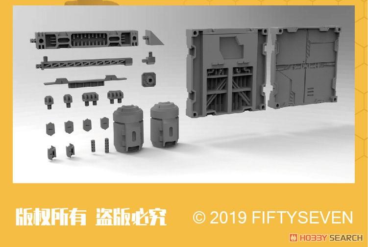 『NUMBER 57 アーマードパペット 工業三式』1/24 プラモデル-009