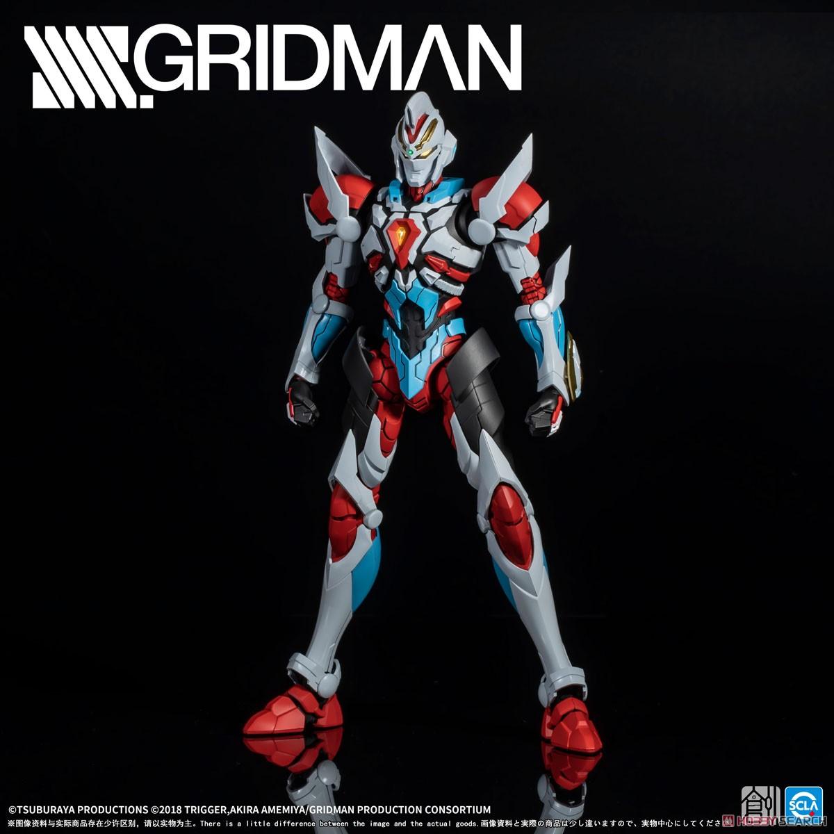 TRON-01001『SSSS.GRIDMAN グリッドマン』プラモデル-002