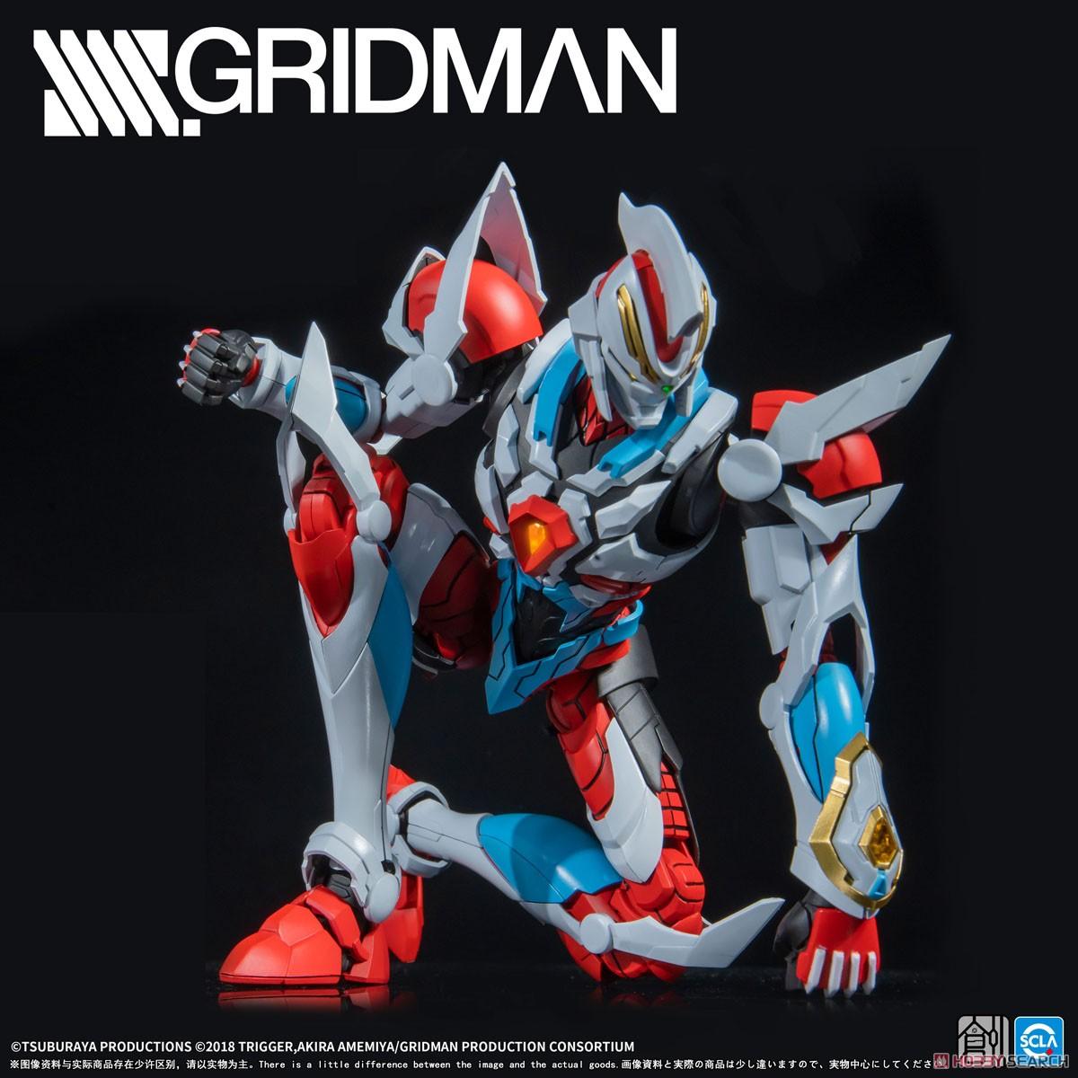 TRON-01001『SSSS.GRIDMAN グリッドマン』プラモデル-008