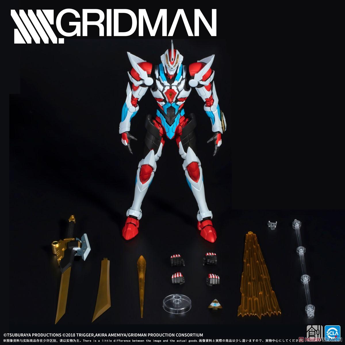 TRON-01001『SSSS.GRIDMAN グリッドマン』プラモデル-011