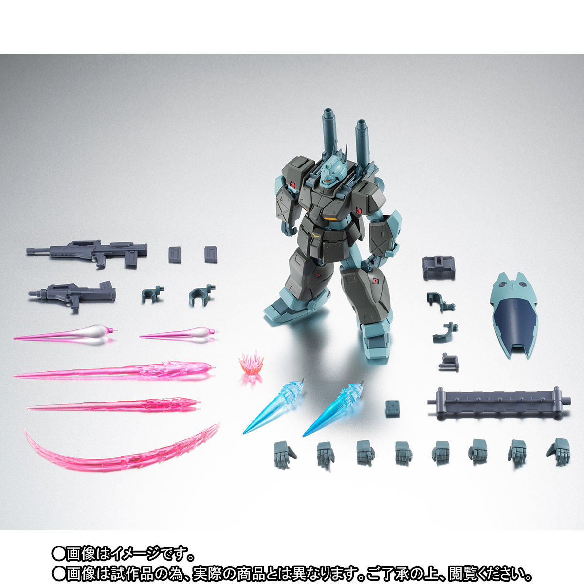 【限定販売】ROBOT魂〈SIDE MS〉『RGC-83 ジム・キャノンII ver. A.N.I.M.E.』ガンダム0083 可動フィギュア-010