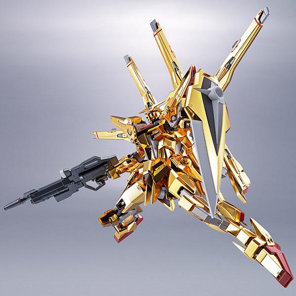 【限定販売】METAL ROBOT魂〈SIDE MS〉『アカツキガンダム(シラヌイ装備)』機動戦士ガンダムSEED DESTINY 可動フィギュア