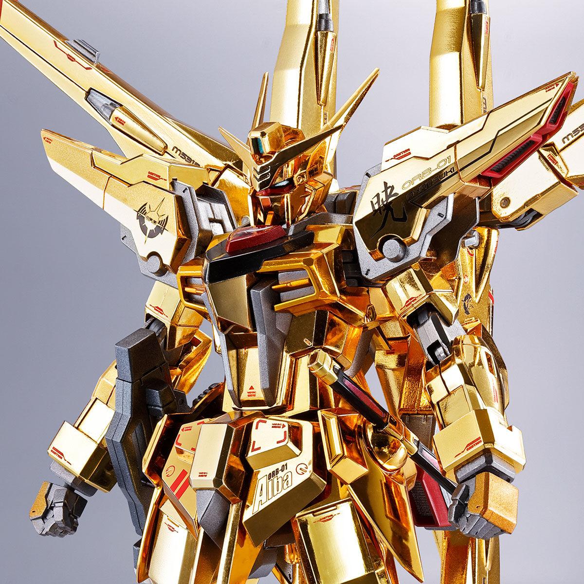 【限定販売】METAL ROBOT魂〈SIDE MS〉『アカツキガンダム(シラヌイ装備)』機動戦士ガンダムSEED DESTINY 可動フィギュア-001