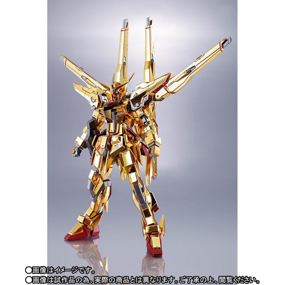 【限定販売】METAL ROBOT魂〈SIDE MS〉『アカツキガンダム(シラヌイ装備)』機動戦士ガンダムSEED DESTINY 可動フィギュア-002