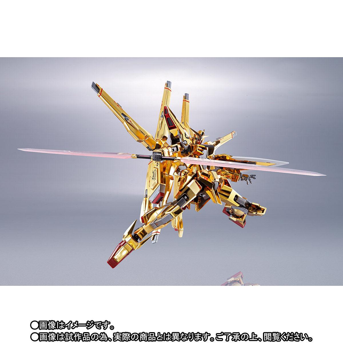 【限定販売】METAL ROBOT魂〈SIDE MS〉『アカツキガンダム(シラヌイ装備)』機動戦士ガンダムSEED DESTINY 可動フィギュア-003