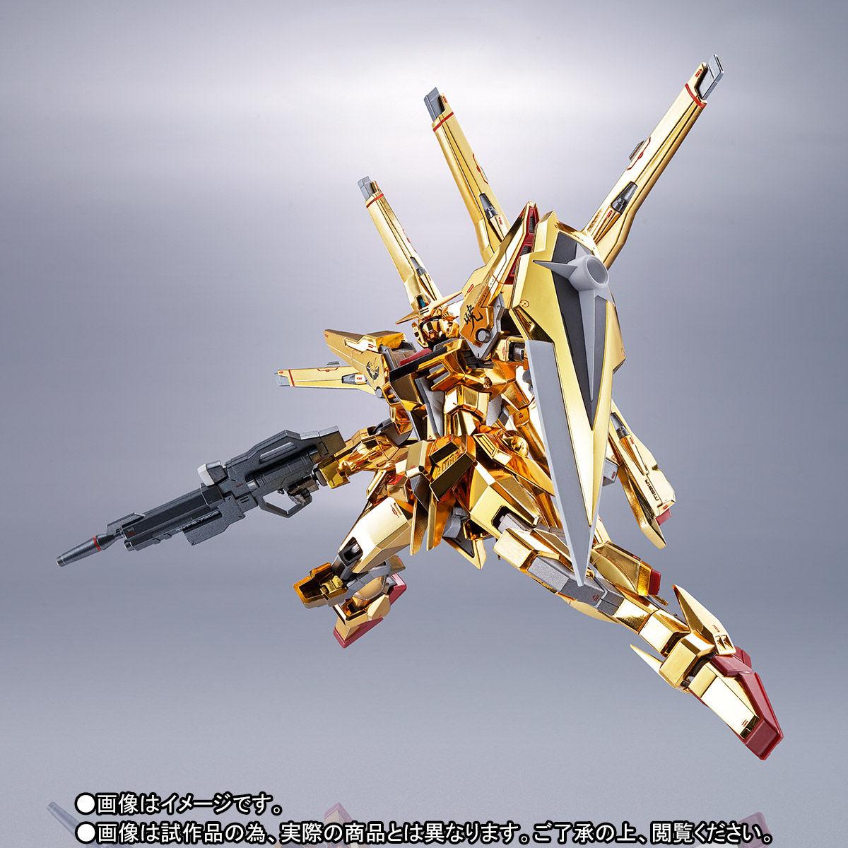 【限定販売】METAL ROBOT魂〈SIDE MS〉『アカツキガンダム(シラヌイ装備)』機動戦士ガンダムSEED DESTINY 可動フィギュア-004