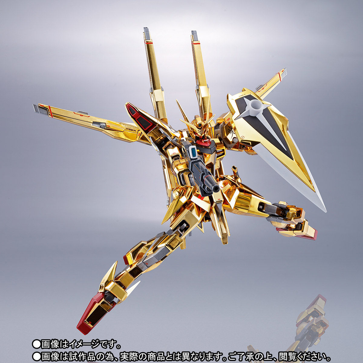 【限定販売】METAL ROBOT魂〈SIDE MS〉『アカツキガンダム(シラヌイ装備)』機動戦士ガンダムSEED DESTINY 可動フィギュア-005