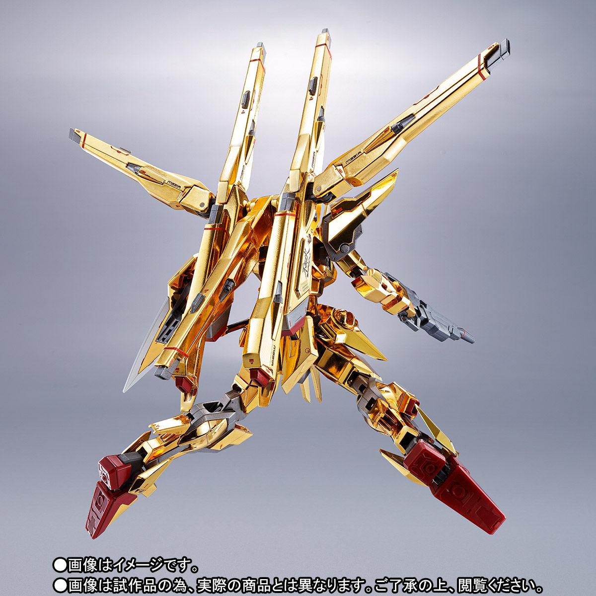 【限定販売】METAL ROBOT魂〈SIDE MS〉『アカツキガンダム(シラヌイ装備)』機動戦士ガンダムSEED DESTINY 可動フィギュア-006