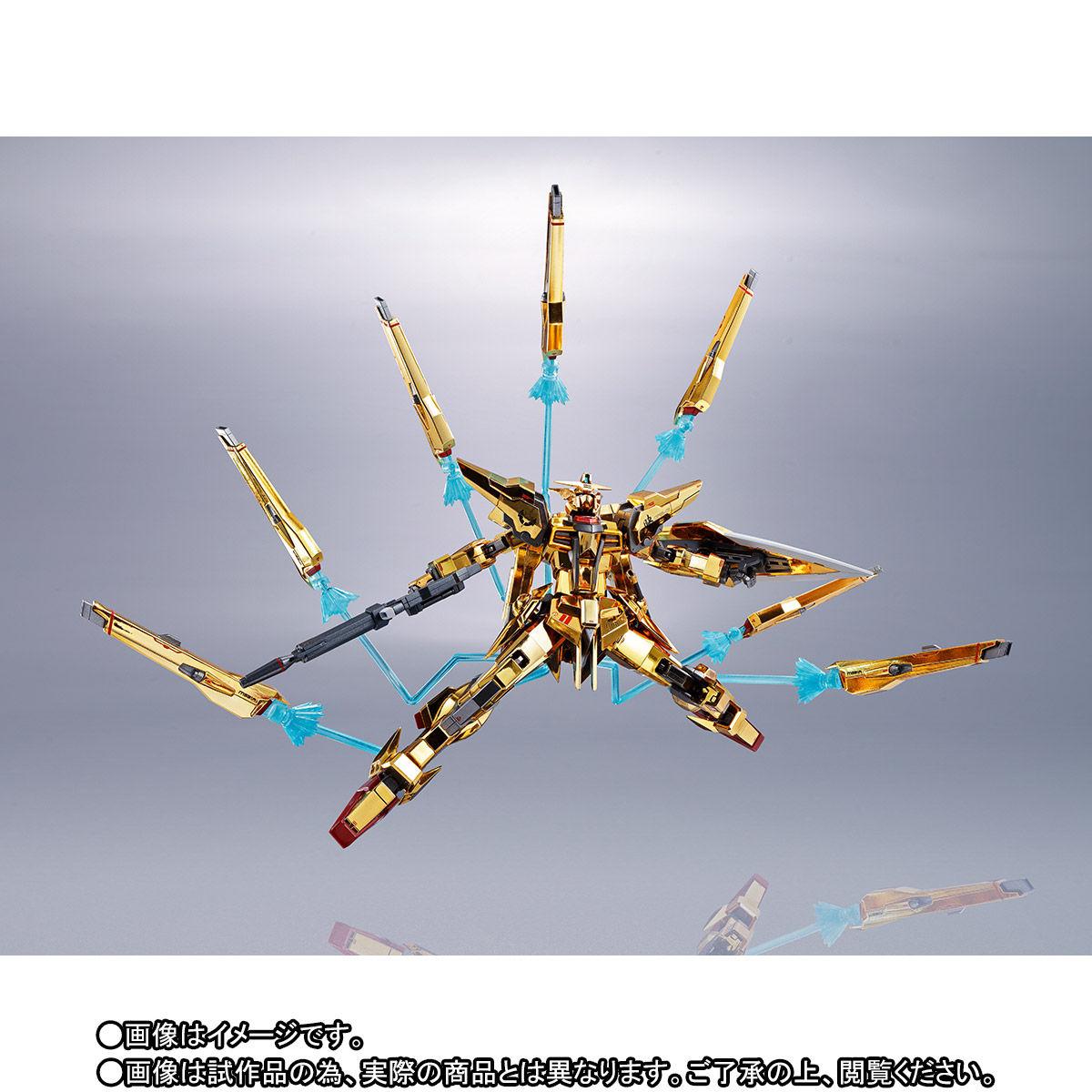 【限定販売】METAL ROBOT魂〈SIDE MS〉『アカツキガンダム(シラヌイ装備)』機動戦士ガンダムSEED DESTINY 可動フィギュア-007