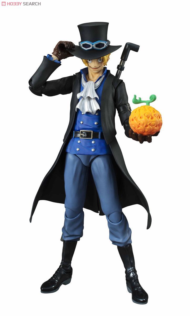 【再販】ヴァリアブルアクションヒーローズ『サボ』ONE PIECE 可動フィギュア-001