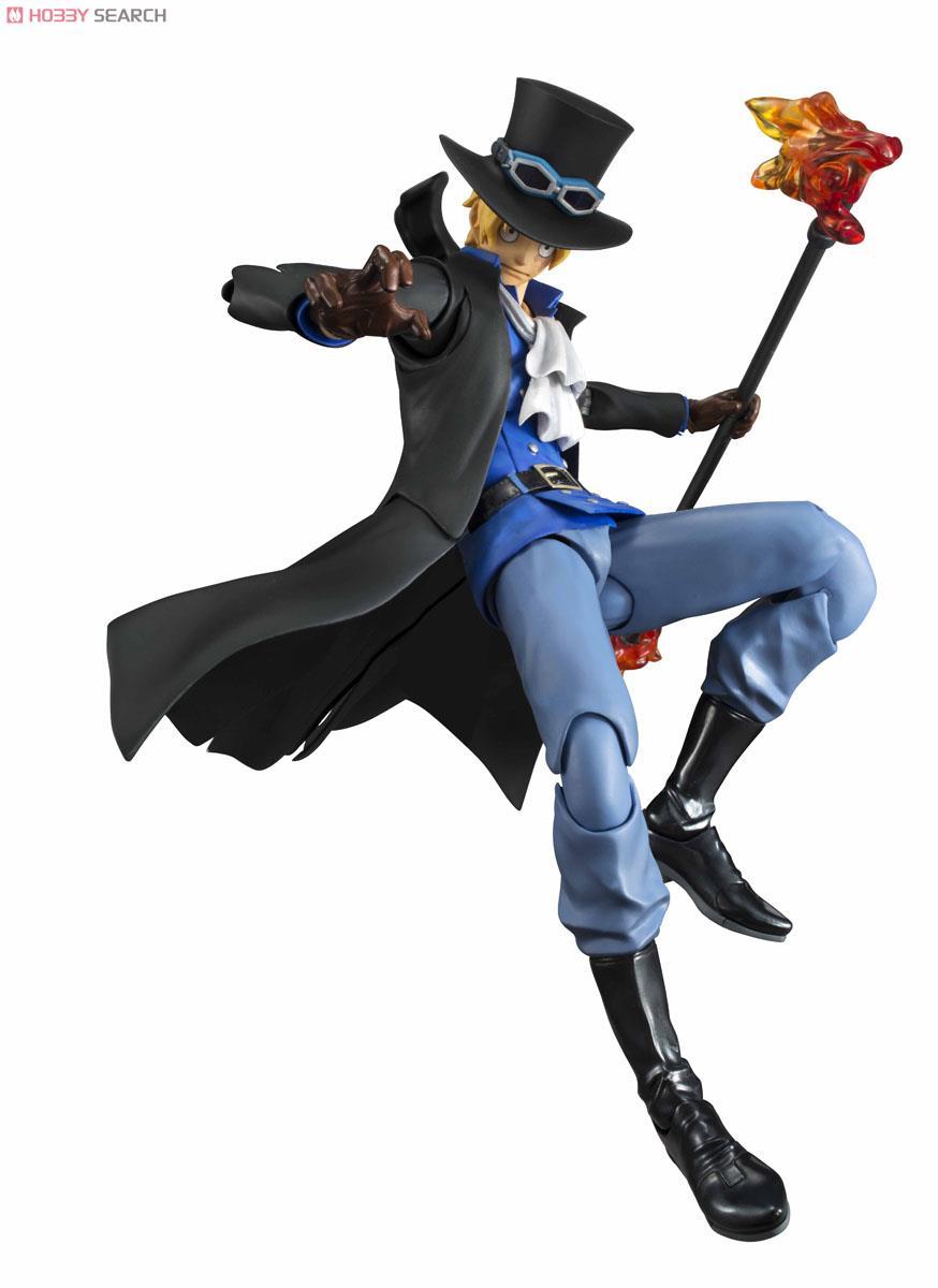 【再販】ヴァリアブルアクションヒーローズ『サボ』ONE PIECE 可動フィギュア-004