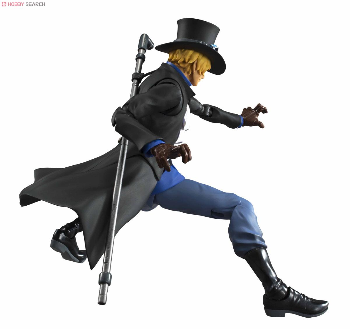 【再販】ヴァリアブルアクションヒーローズ『サボ』ONE PIECE 可動フィギュア-006