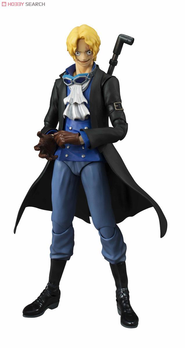 【再販】ヴァリアブルアクションヒーローズ『サボ』ONE PIECE 可動フィギュア-008