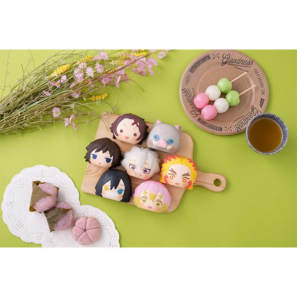 ふかふかスクイーズパン『鬼滅の刃 第2弾』8個入りBOX-008