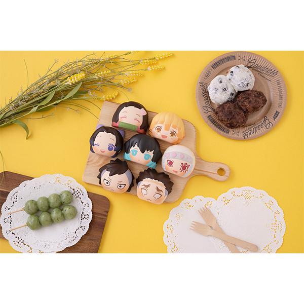 ふかふかスクイーズパン『鬼滅の刃 第2弾』8個入りBOX-016