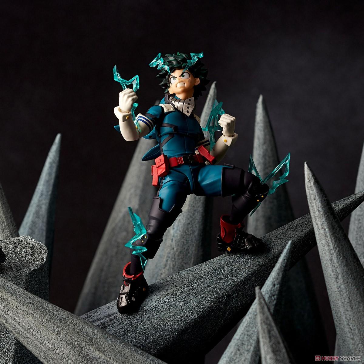 フィギュアコンプレックス アメイジング・ヤマグチ No.018『緑谷出久』僕のヒーローアカデミア 可動フィギュア-014