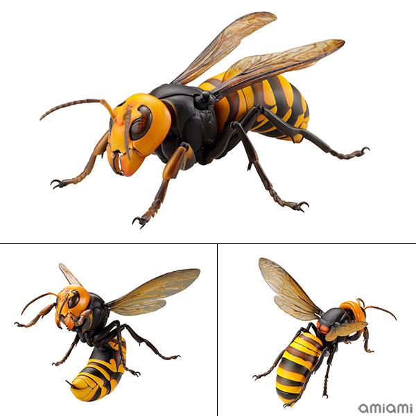 リボジオ『オオスズメバチ』REVOGEO 可動フィギュア