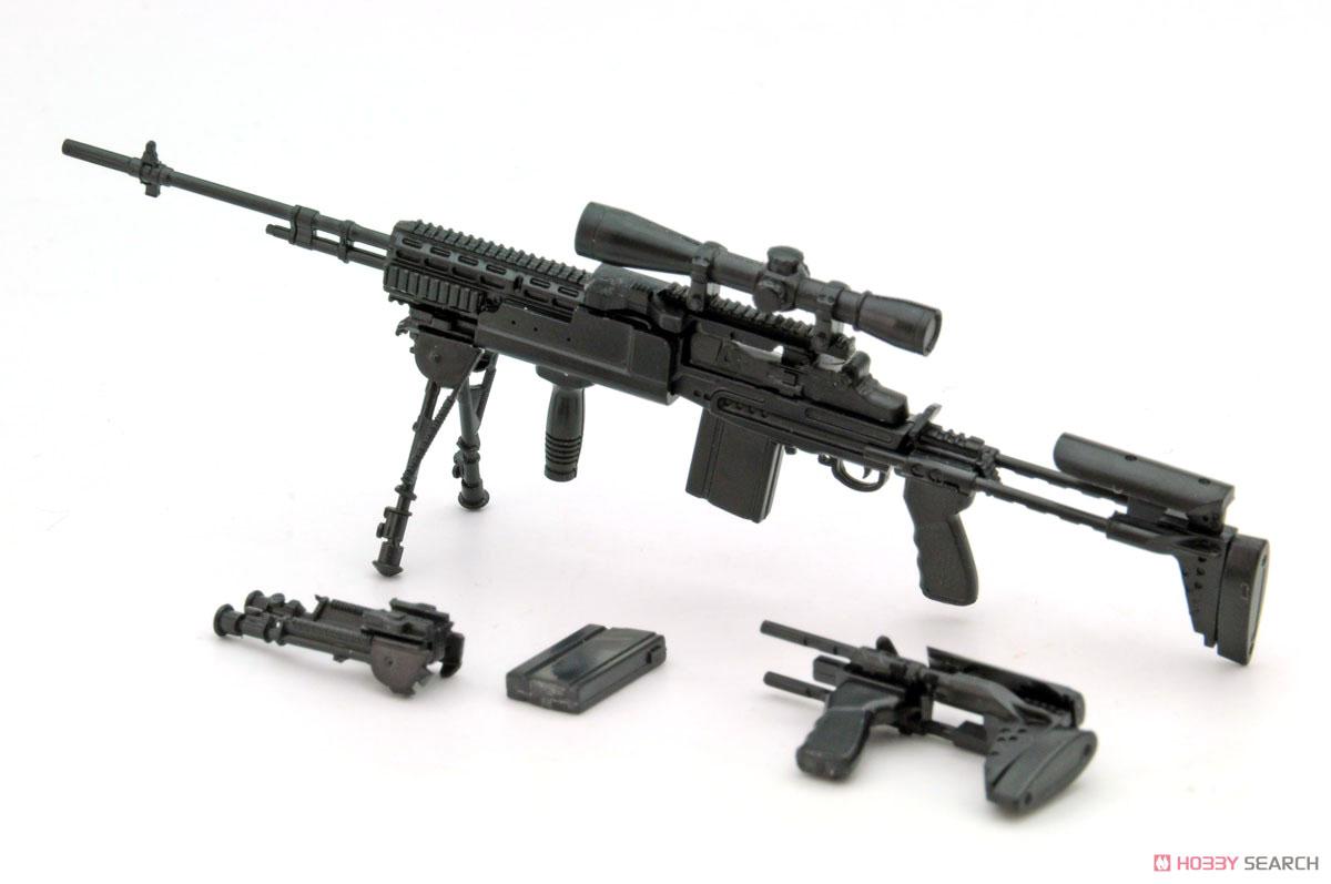 リトルアーモリー LA062『M14EBR-RIタイプ』1/12 プラモデル-001