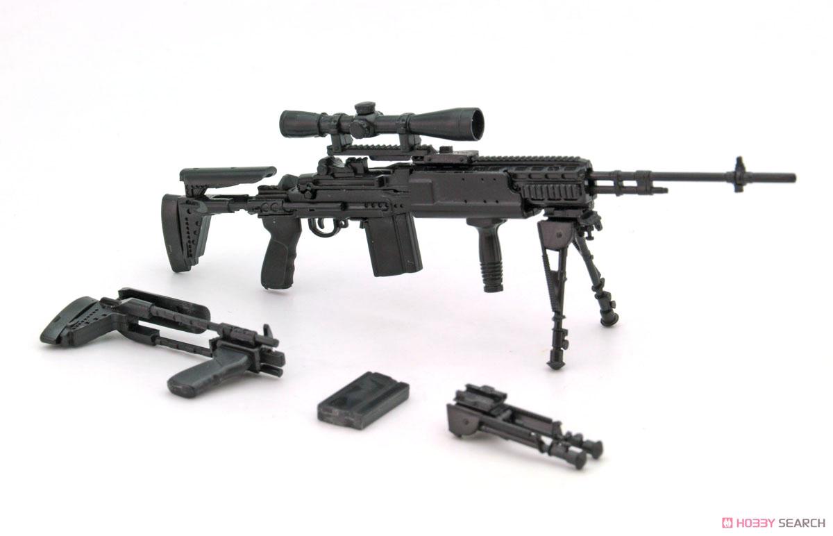 リトルアーモリー LA062『M14EBR-RIタイプ』1/12 プラモデル-002