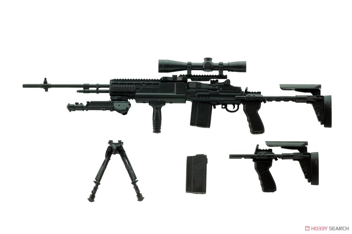 リトルアーモリー LA062『M14EBR-RIタイプ』1/12 プラモデル-003