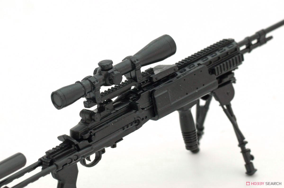リトルアーモリー LA062『M14EBR-RIタイプ』1/12 プラモデル-005