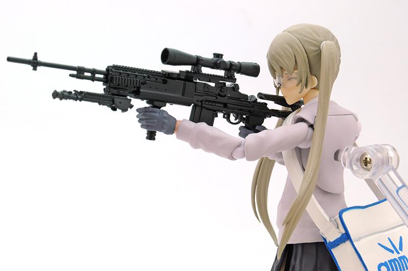 リトルアーモリー LA062『M14EBR-RIタイプ』1/12 プラモデル-007