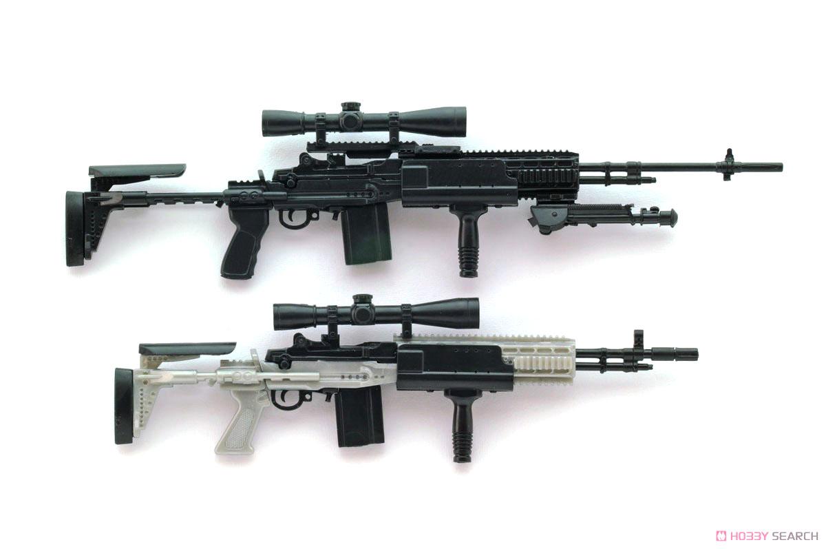 リトルアーモリー LA062『M14EBR-RIタイプ』1/12 プラモデル-008