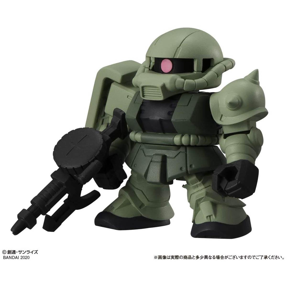 【ガシャポン】機動戦士ガンダム『ガシャポン戦士フォルテ11』12個入りBOX-005