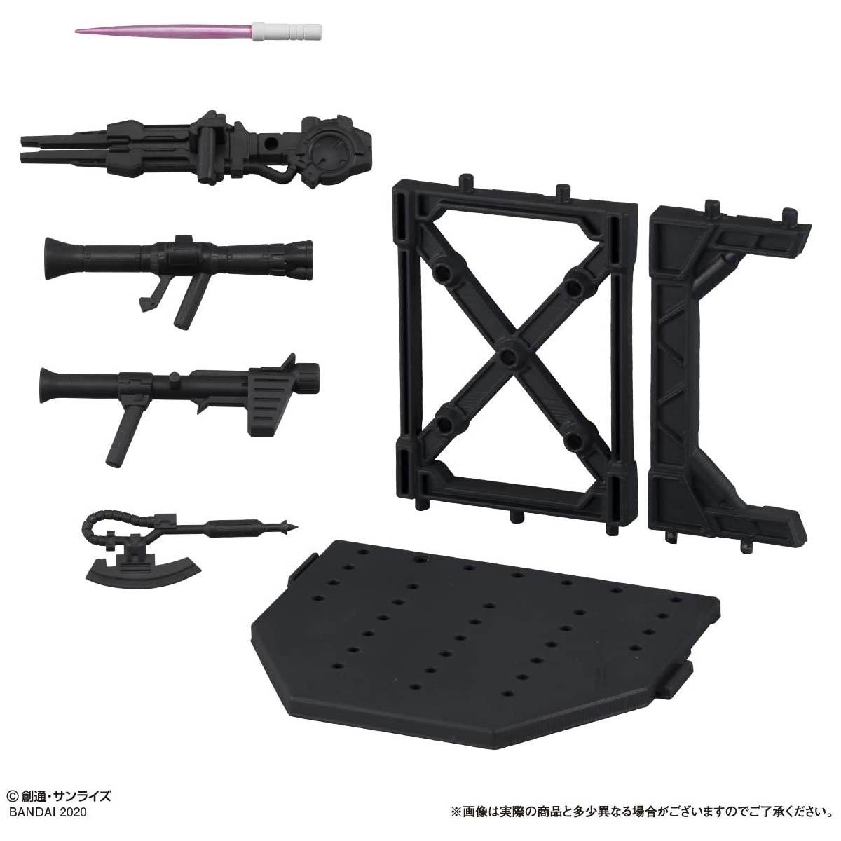 【ガシャポン】機動戦士ガンダム『ガシャポン戦士フォルテ11』12個入りBOX-007