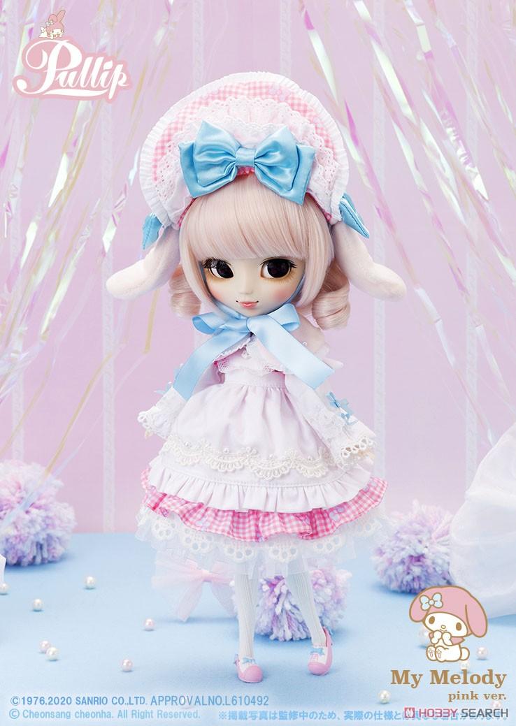 【再販】プーリップ Pullip『My Melody pink ver.(マイメロディ ピンクバージョン)』完成品ドール-001