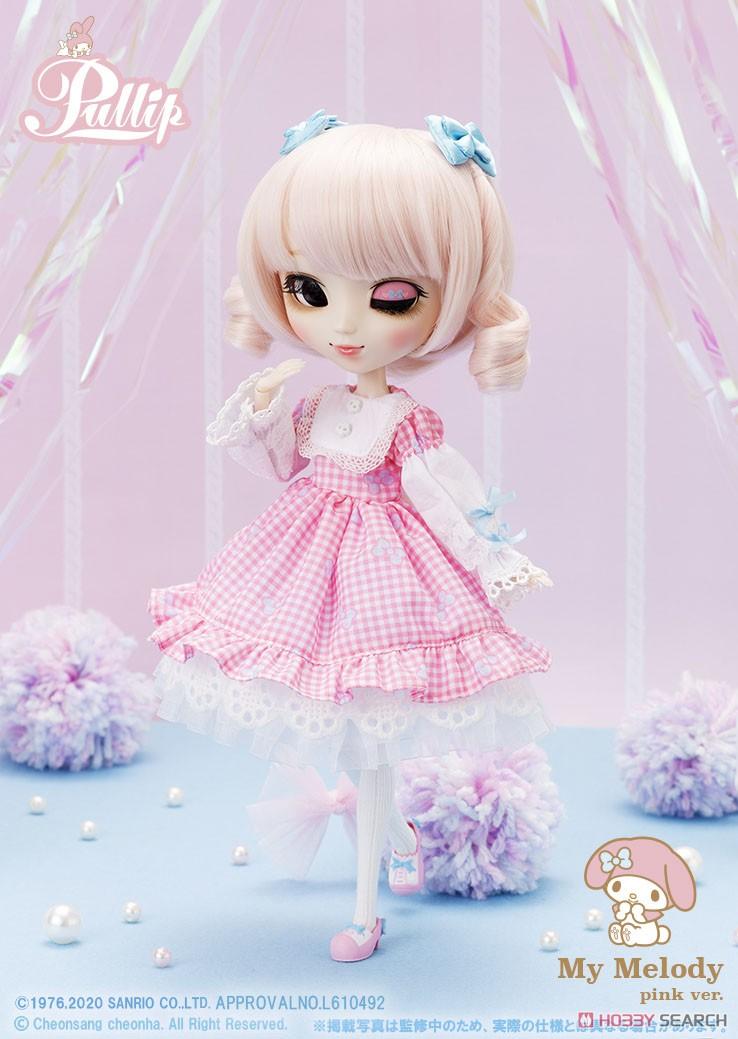 【再販】プーリップ Pullip『My Melody pink ver.(マイメロディ ピンクバージョン)』完成品ドール-002