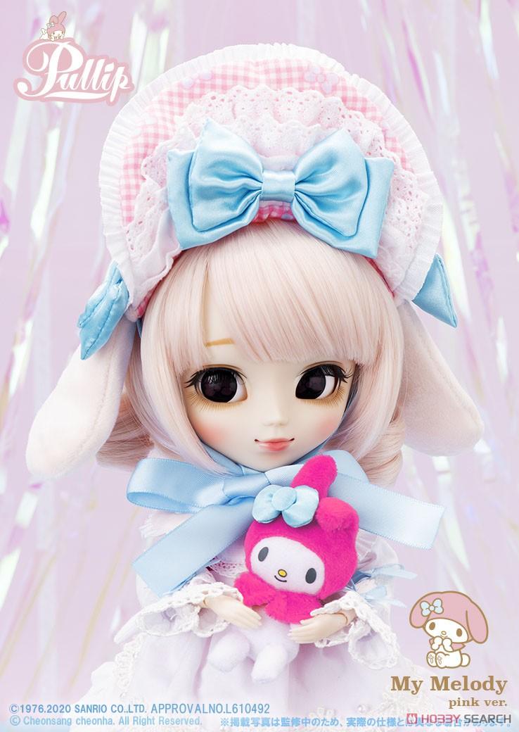 【再販】プーリップ Pullip『My Melody pink ver.(マイメロディ ピンクバージョン)』完成品ドール-003