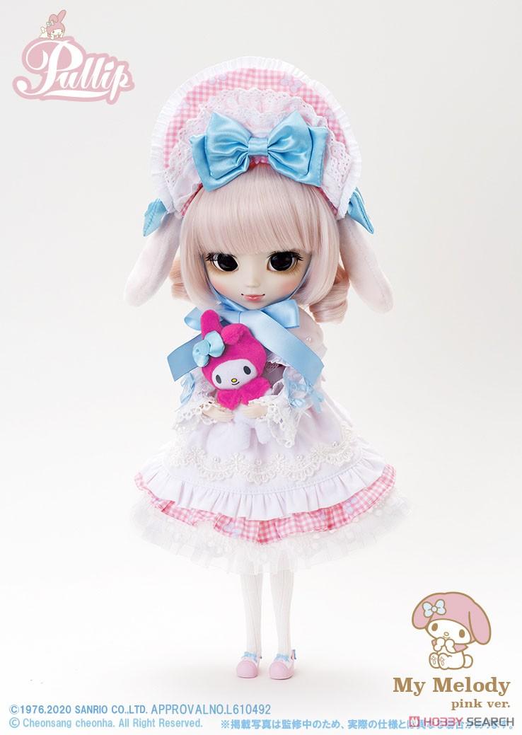 【再販】プーリップ Pullip『My Melody pink ver.(マイメロディ ピンクバージョン)』完成品ドール-004
