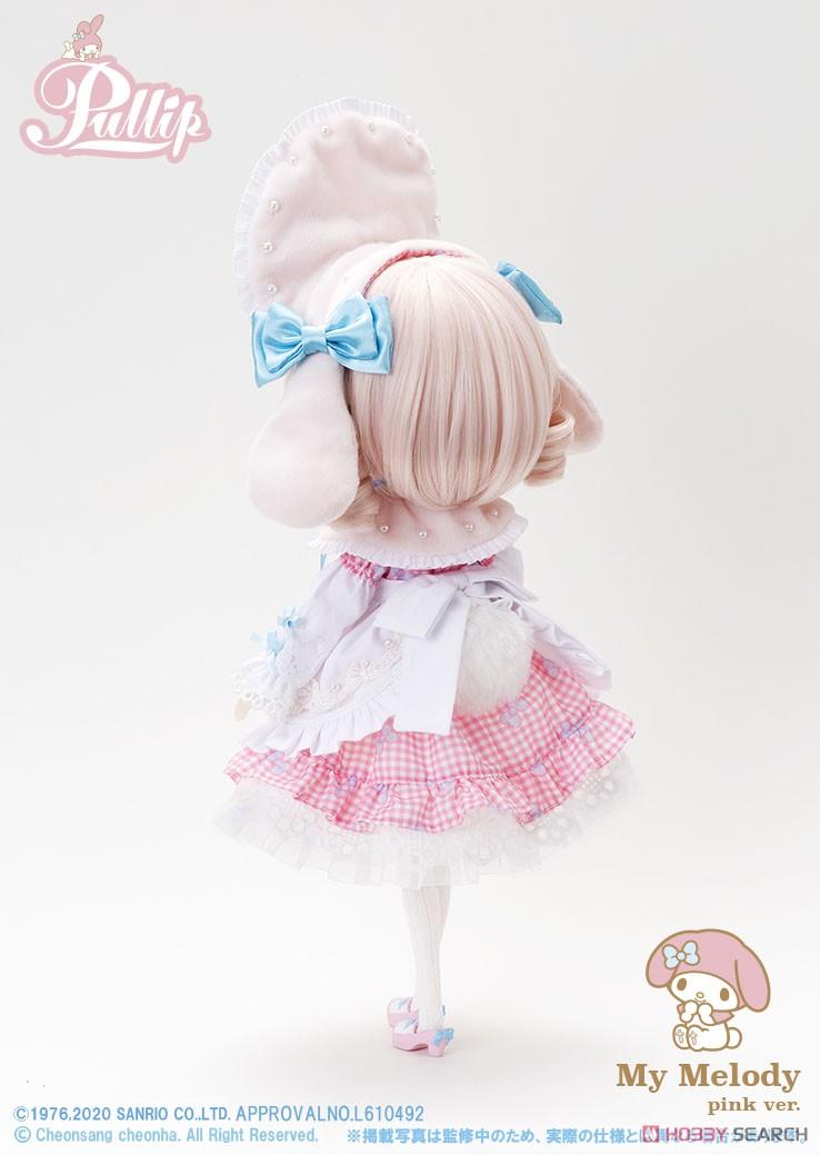 【再販】プーリップ Pullip『My Melody pink ver.(マイメロディ ピンクバージョン)』完成品ドール-005