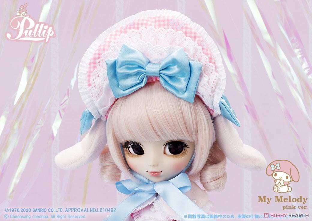 【再販】プーリップ Pullip『My Melody pink ver.(マイメロディ ピンクバージョン)』完成品ドール-006