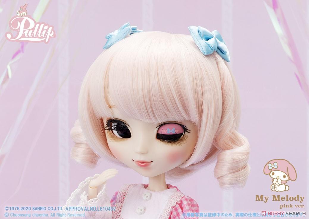 【再販】プーリップ Pullip『My Melody pink ver.(マイメロディ ピンクバージョン)』完成品ドール-007