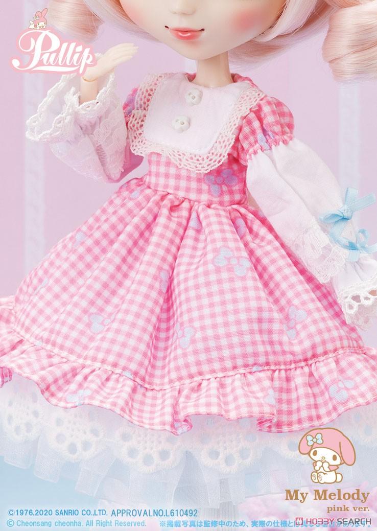 【再販】プーリップ Pullip『My Melody pink ver.(マイメロディ ピンクバージョン)』完成品ドール-008