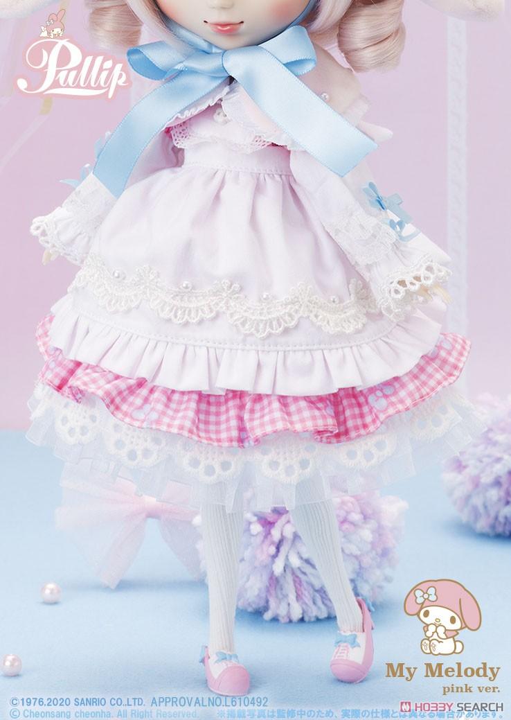 【再販】プーリップ Pullip『My Melody pink ver.(マイメロディ ピンクバージョン)』完成品ドール-009