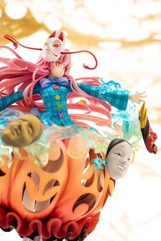 """東方Project『""""表情豊かなポーカーフェイス"""" 秦こころ』1/8 完成品フィギュア-011"""
