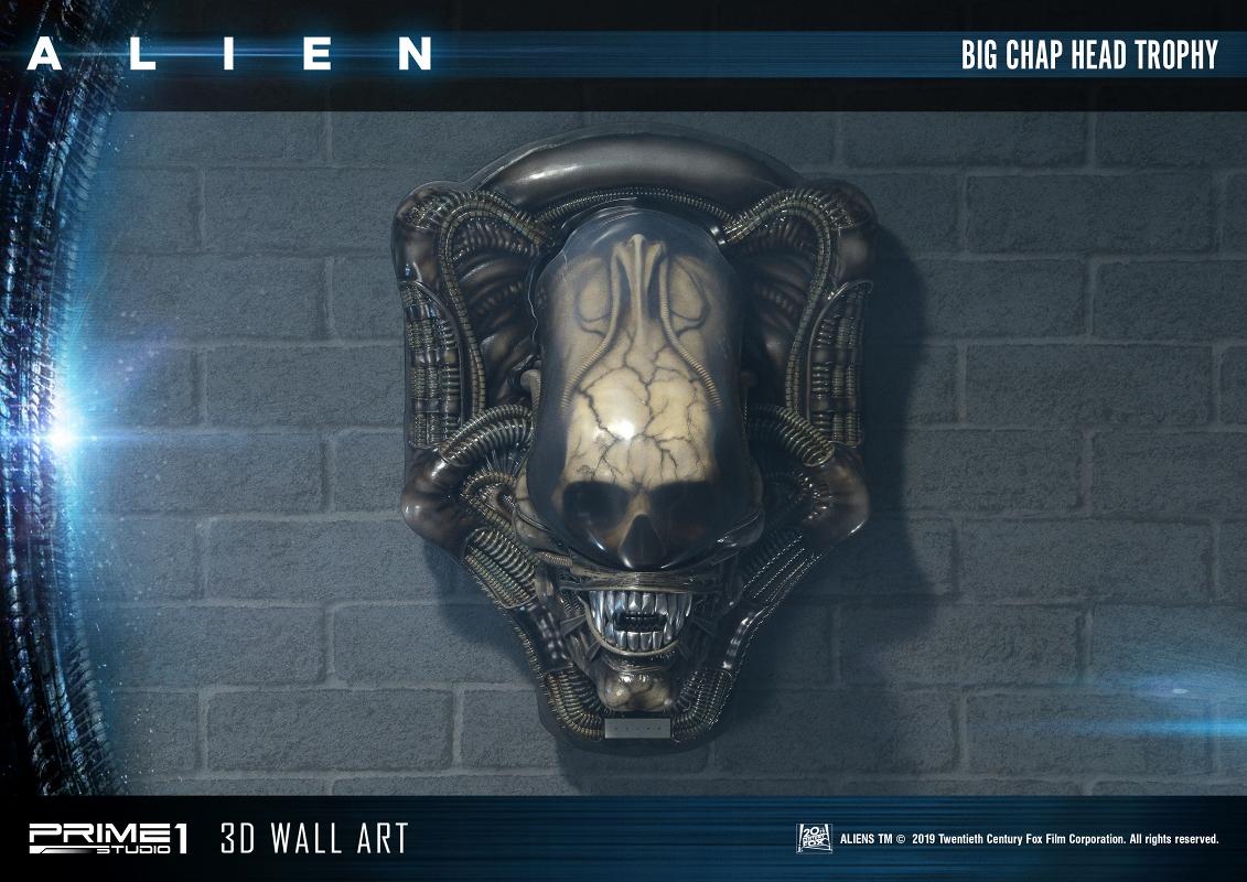 3Dウォールアート『エイリアン:ビッグチャップ』スタチュー-002