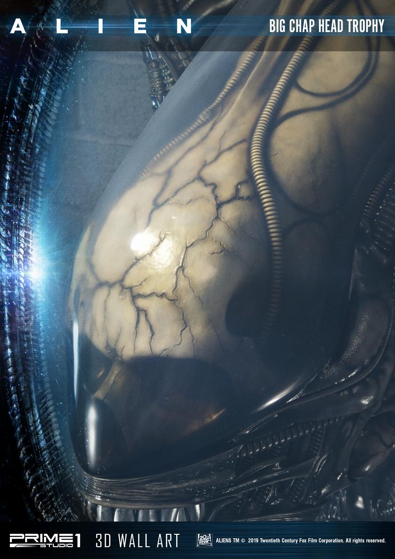 3Dウォールアート『エイリアン:ビッグチャップ』スタチュー-006
