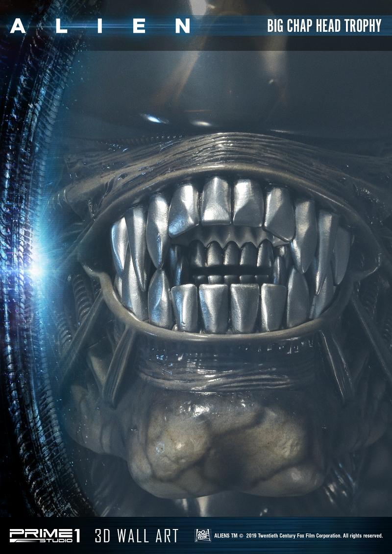 3Dウォールアート『エイリアン:ビッグチャップ』スタチュー-010