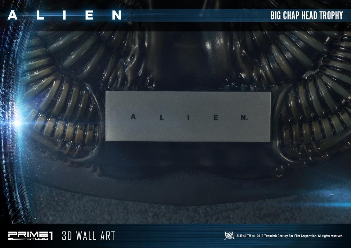 3Dウォールアート『エイリアン:ビッグチャップ』スタチュー-014