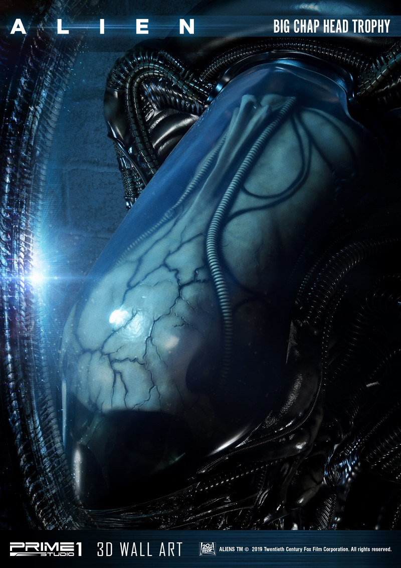 3Dウォールアート『エイリアン:ビッグチャップ』スタチュー-022