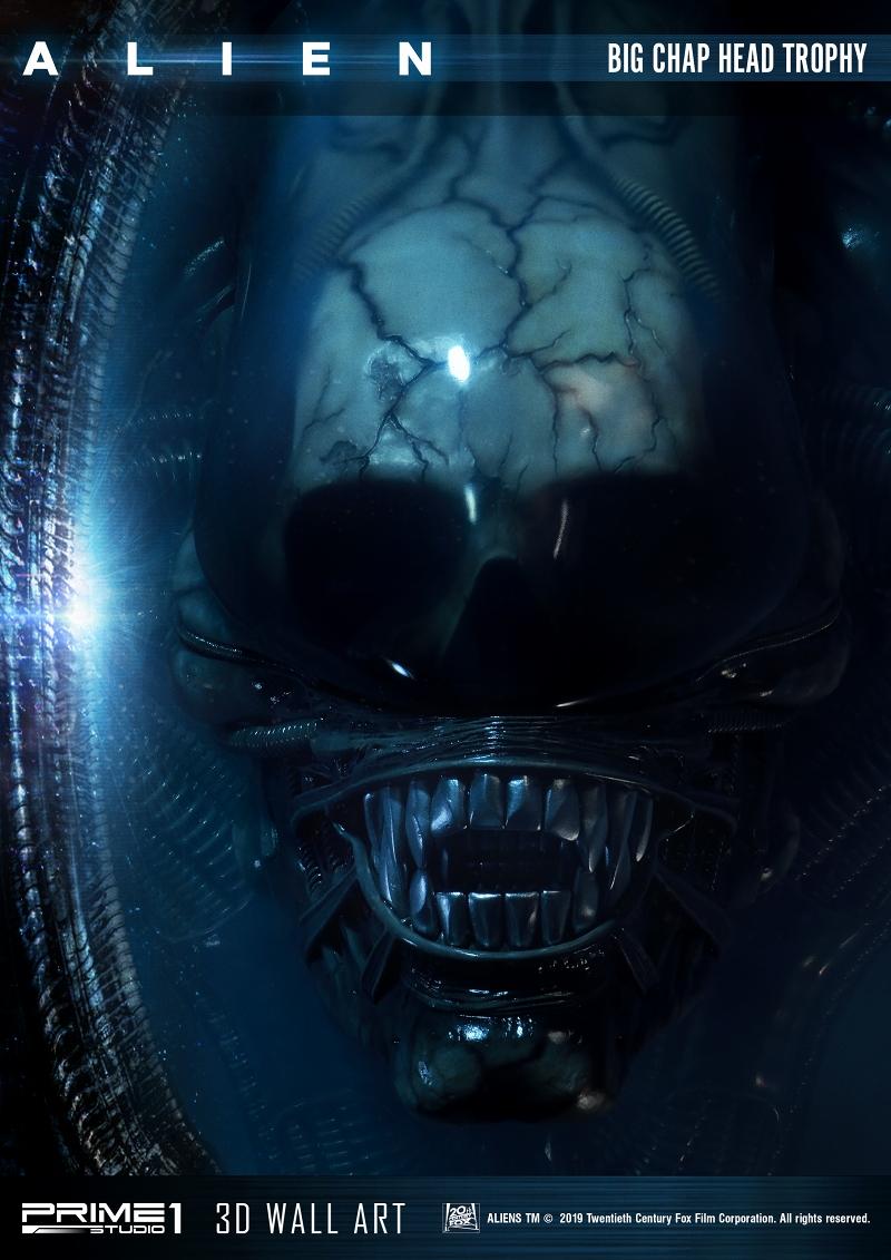 3Dウォールアート『エイリアン:ビッグチャップ』スタチュー-027