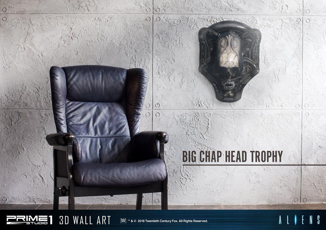 3Dウォールアート『エイリアン:ビッグチャップ』スタチュー-032