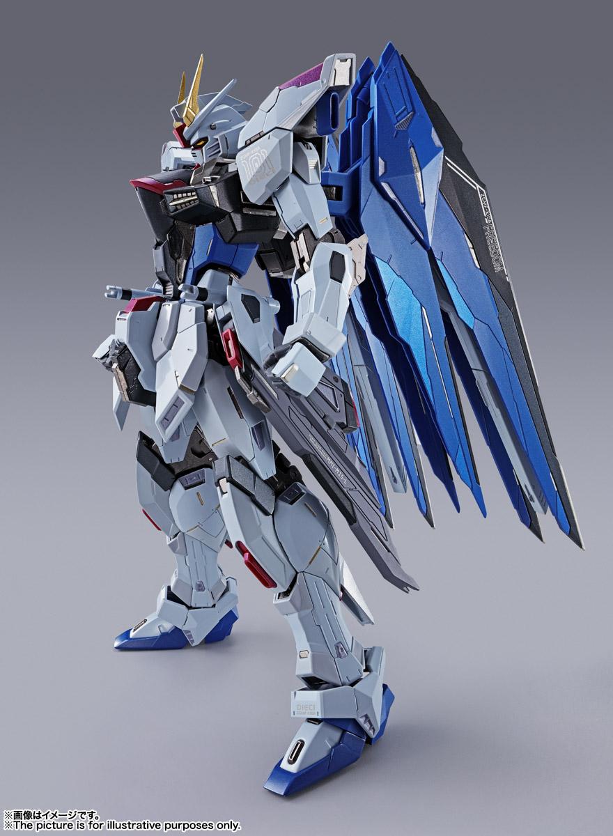【再販】METAL BUILD『フリーダムガンダム CONCEPT 2』機動戦士ガンダムSEED 可動フィギュア-004
