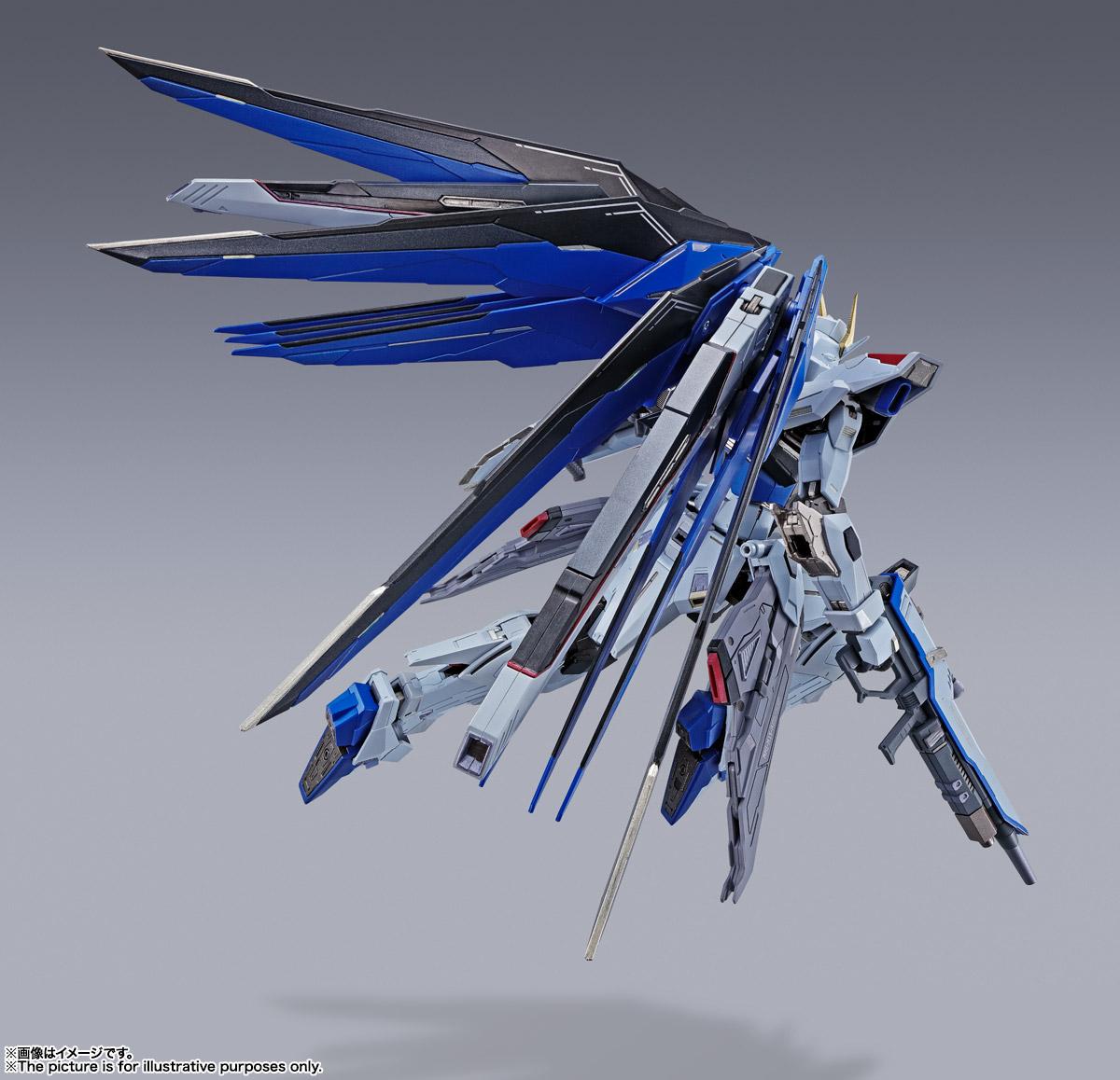 【再販】METAL BUILD『フリーダムガンダム CONCEPT 2』機動戦士ガンダムSEED 可動フィギュア-005