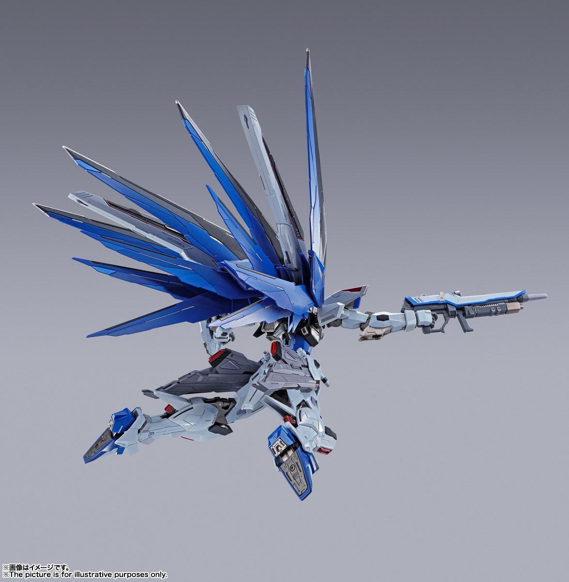 【再販】METAL BUILD『フリーダムガンダム CONCEPT 2』機動戦士ガンダムSEED 可動フィギュア-006